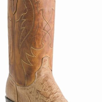 Lucchese Since 1883 Tan Burnished M1600 Ostrich