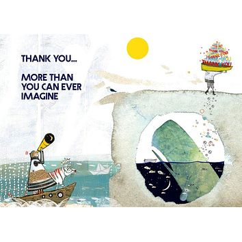 More Thank You Card