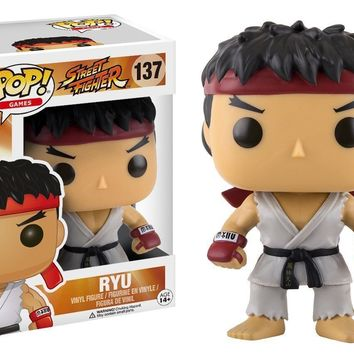 "Funko Pop Ryu Street Fighter 3.75"" Vinyl Figure"
