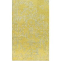 Bagras Abstract Lime Area Rug