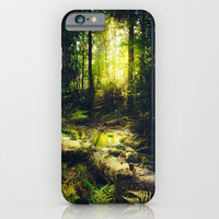 Down the dark ravine iPhone & iPod Case by HappyMelvin