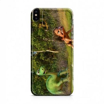Angry The Good Dinosaur Disney iPhone X case