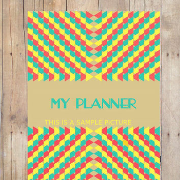 Retro Chic Printable Super Pack Planner/ A4 /