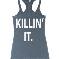 Killin' It Racerback Gym Workout Tank