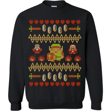 Don't Wear This Alone! Classic Zelda Ugly Adult Sweater