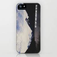 mumford + sons - timshel iPhone Case by lissalaine | Society6