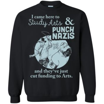 TheGoodTees Nazis I Punch Nazis They Cut Funding To Arts