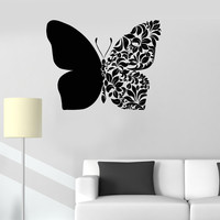 Vinyl Wall Decal Beautiful Butterfly Art Room Decoration House Decor Stickers (ig3231)