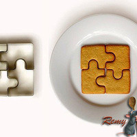 Jigsaw Cookie Cutter-limited supply by ClothLess