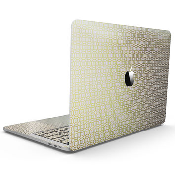 The Golden Modern Geometric Pattern  - MacBook Pro with Touch Bar Skin Kit
