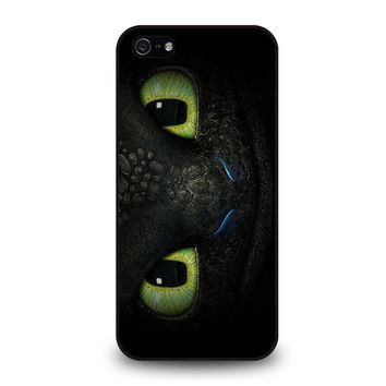 toothless how to train your dragon iphone 5 5s se case cover  number 1