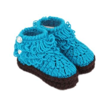 Newborn Cotton Cute Candy Color Baby Boy Girl Shoes