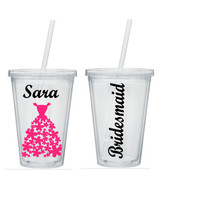 Bridesmaid Tumblers, Bridesmaid Tumbler, Personalized Bridesmaid Tumblers, Bridesmaid Gift, Bride Tumbler, Bridesmaid Gifts