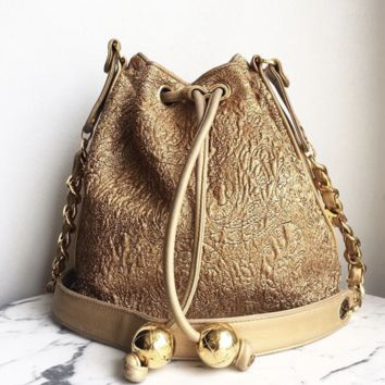 Chanel Drawstring Handbag