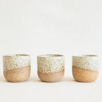 Humble Ceramics Petite Alder Tumbler in Sandstone at General Store