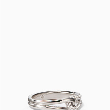 get connected pave loop ring | Kate Spade New York