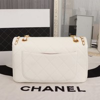 CHANE SIZE 27*13*11 Double C vintage Chanl jumbo Leather silver gold Chain Shoulder Bag Tote 2020 New