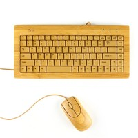 woody keyboard & mouse set