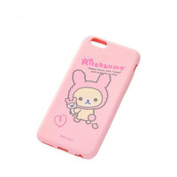 San-X Rilakkuma Character Soft Type Silicone case for iPhone 6 (Korilakkuma/Rabbit Theme)