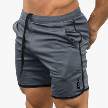 Muscle Aesthetics Men's Casual Summer Shorts Sexy Sweatpants Male Fitness Bodybuilding Workout Man Fashion Short pants