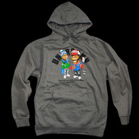 TEAM ZAMUNDA P/O HOODIE | dark grey heather