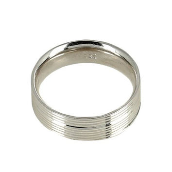 Silver Alloy Ring for Men Size 8 Indian Jewelry Unique