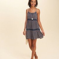 Girls Tiered Swing Dress | Girls Dresses & Rompers | HollisterCo.com