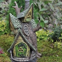 Village Tree House - My Fairy Gardens