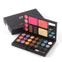 New Arrival Cosmetics Makeup Multi-function Eyeshadow Palette Eye Shadow+Blusher+Lipsticks Voyage Make Up Kit