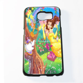 Beauty And The Beast Disney Movie Samsung Galaxy S6 and S6 Edge Case