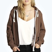 Daniella Zip Through Hoody