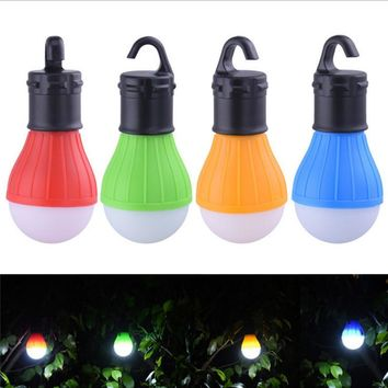 Tent Waterproof Lamp With Hook Led Portable Emergency Lamp Camping Lantern Outdoor Light Free Shipping