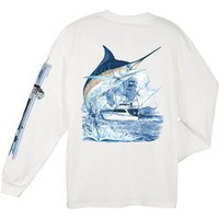 Academy - Guy Harvey Men's Marlin Boat T-shirt