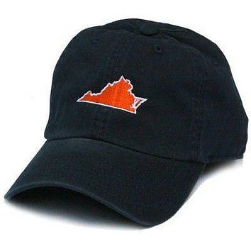 VA Charlottesville Gameday Hat in Navy by State Traditions