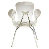 Lumisource Acrylic Dining Chair - Clear
