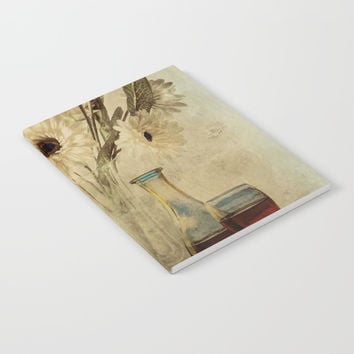 Wine And Wildflowers Notebook by Theresa Campbell D'August Art