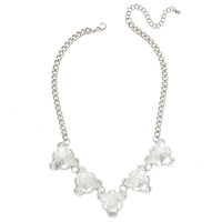 Ice Triangle Necklace