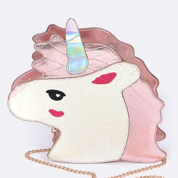 Magical Unicorn Crossbody Bag Purse