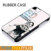 Ed Sheeran Cats Galaxy iPhone 4/4S, 5/5S, 5C, 6/6 Plus Series Rubber Case