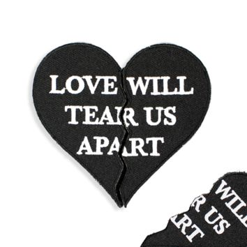 Love Will Tear Patch