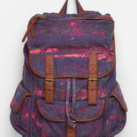 Ecote Patterned Canvas Backpack
