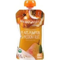 Happy Baby Clearly Crafted S2 Pear Pumpkin Passion Fruit 4oz