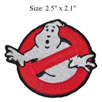 "2.5"" x 2.1""  Ghostbuster Movie Embroidered Uniform Logo Patch by StarBase Atlanta"