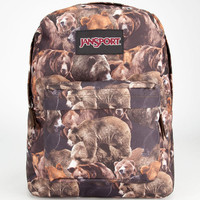 Jansport Black Label Superbreak Backpack Multi Grizzly Bear One Size For Men 23726844901
