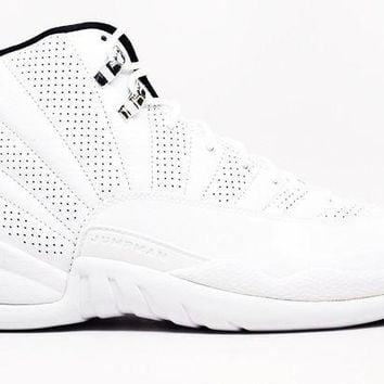 Air Jordan 12 Retro Rising Sun Basketball Shoes <>