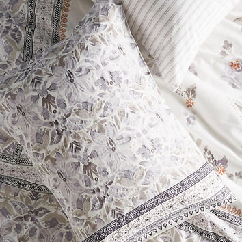 Embroidered Wintertide Shams