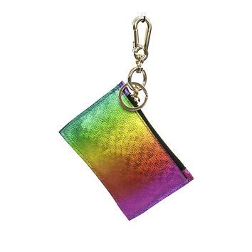 B-Low the Belt Rainbow Keychain Card Holder