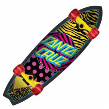 Santa Cruz Skateboards Santa Cruz Saved By The Shark Land Shark Cruiser Skateboard - Santa Cruz Skateboards from Native Skate Store UK