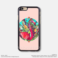 The Flamingo Pineapple iPhone 6 6Plus case iPhone 5s case iPhone 5C case iPhone 4 4S case Samsung galaxy Note 2 Note 3 Note 4 S3 S4 S5 case 641