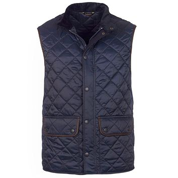 Tantallon Quilted Gilet in Navy by Barbour